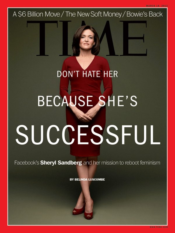 sheryl sandberg time magazine cover